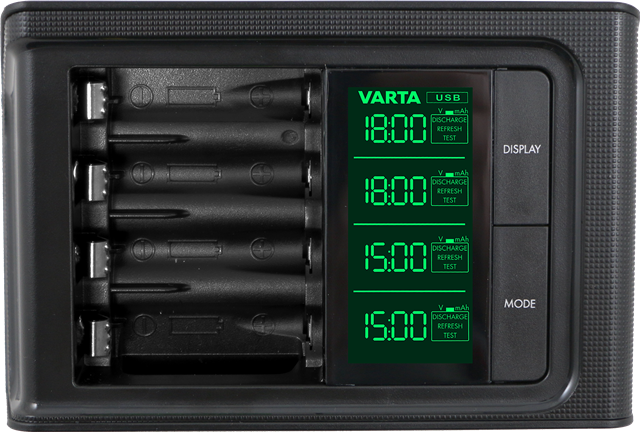 lcd smart charger varta consumer batteries. Black Bedroom Furniture Sets. Home Design Ideas